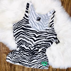 Brand New Volcom Zebra Tank Top